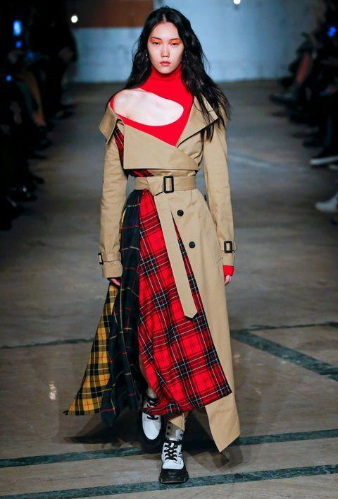 a look from monse's fall 2020 show at new york fashion week