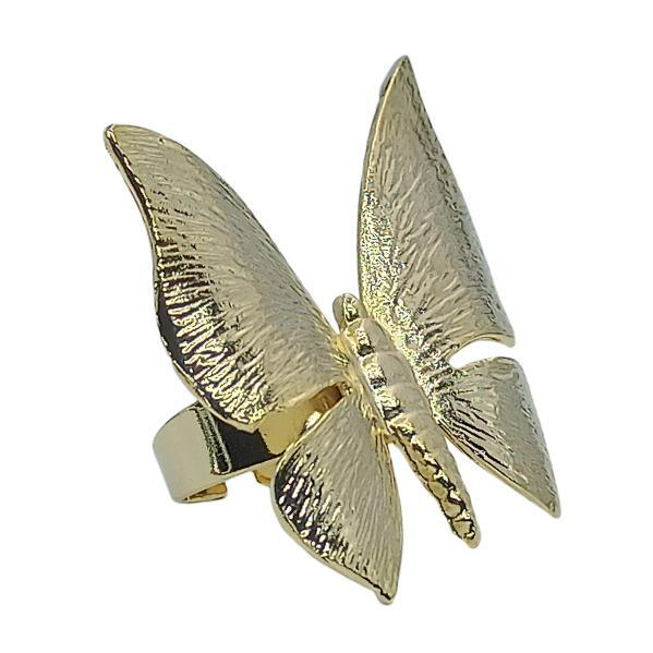 Handmade Butterfly Ring 24K Gold Finished | Genesis | Free Shipping! Adjustable size | Handmade in Greece, Inspired from Ancient Greece