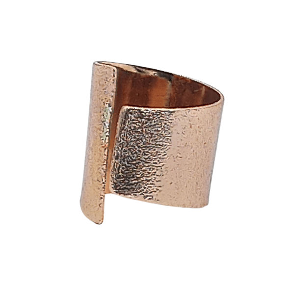 Handmade Chevalier Ring | Pink Gold Plated | Eternal | Rose Gold Plated | FREE Shipping!