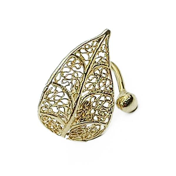 Handmade Leaf Jewelry Set 24K Gold Finished | FREE Shipping | jewelryaccessories4u.com